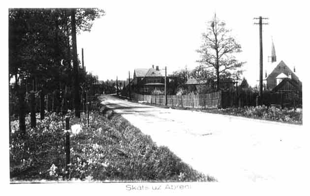 Vēsturiskas bildes un liecības Abrene_pils_1940_630
